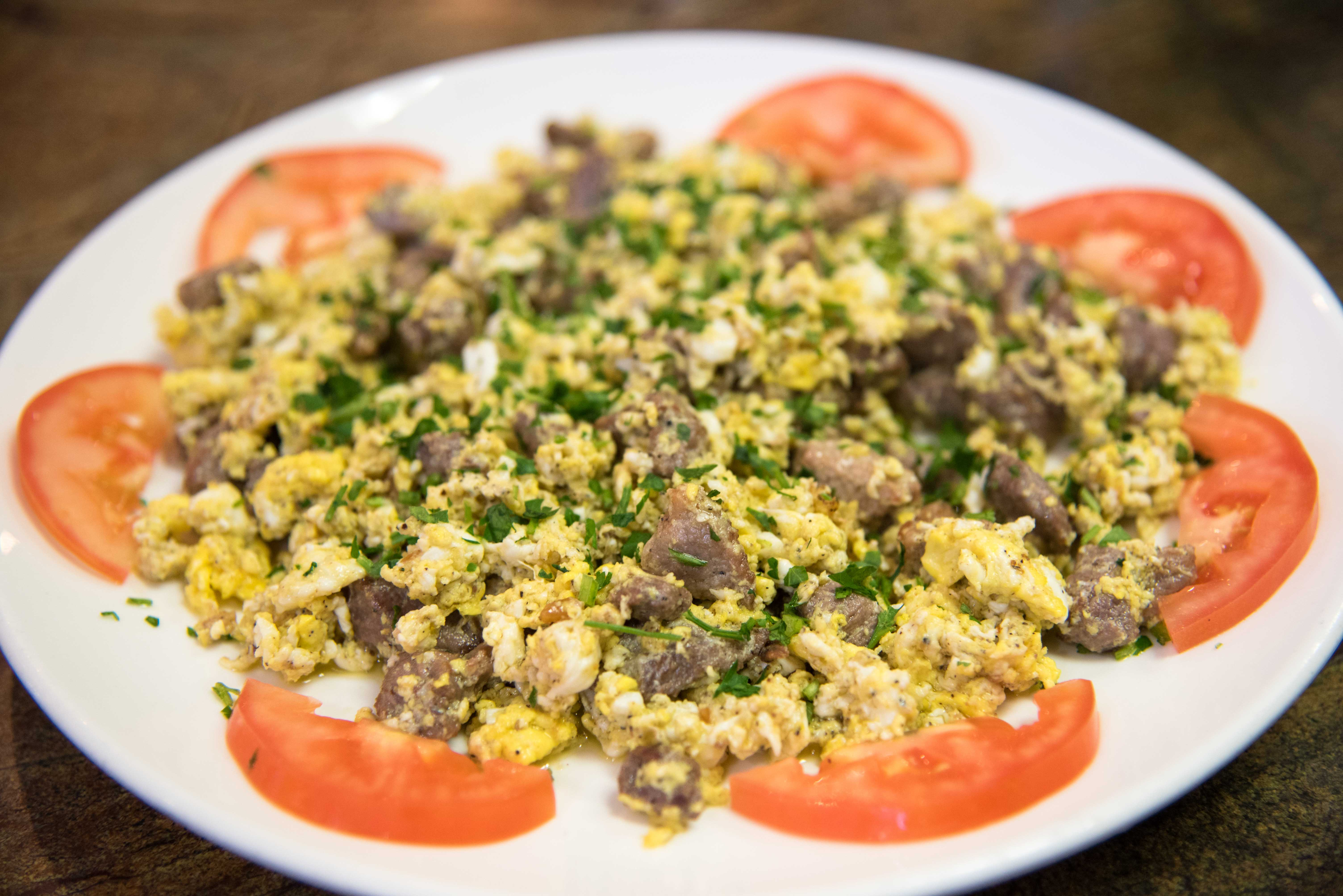 Eggs & Meat